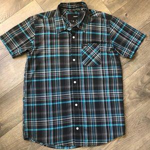 Men's Hurley Button Down Shirt - Size XL